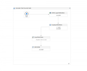 Uipath中小流程范例-Solution Architect中Calculate Client Security Hash实践